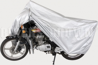 Motoplachta silver Bikers Crown XL